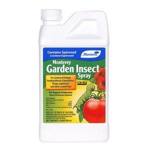 Pest and Disease Monterey Organic Garden Insect Spray - Concentrate - 32 oz