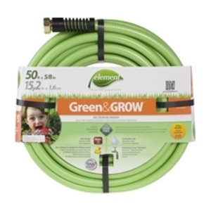 Outdoor Gardening Element Green & Grow Hose - 50 feet