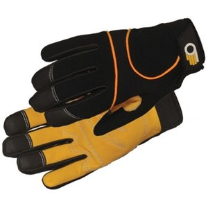 Outdoor Gardening Bellingham Leather Palm Performance Glove - Medium