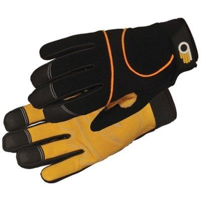 Outdoor Gardening Bellingham Leather Palm Performance Glove - Medium
