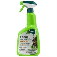 Pest and Disease Safer Organic End All Insect Killer - 32 oz Spray Bottle