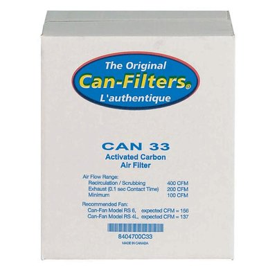 Can Can Filter 33-200 cfm (w/out flange)