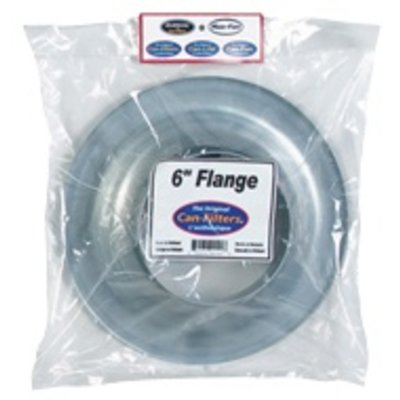 Indoor Gardening Can Flange - 6""