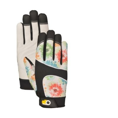 Outdoor Gardening Bellingham Women's Floral Performance Glove - Large