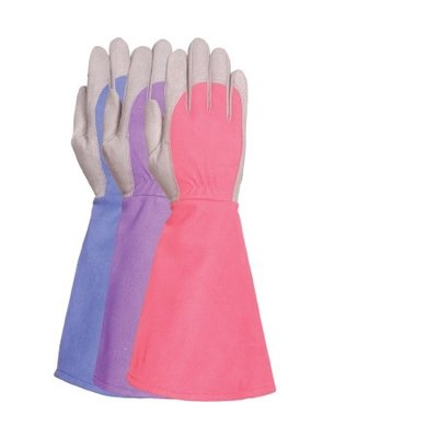 Outdoor Gardening Bellingham Women's Thorn-Handling Gauntlet Gloves - Large