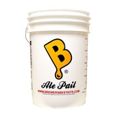 Beer and Wine Ale Pail Fermenting Bucket-6.5 Gal