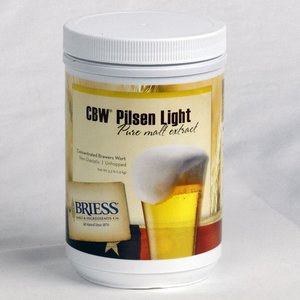 Beer and Wine Briess Pilsen Light LME; 3.3 lbs