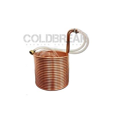 """Coldbreak Brewing Immersion Wort Chiller, 50' - 3/8"""""""