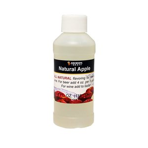 Beer and Wine Natural Apple Flavoring - 4 oz