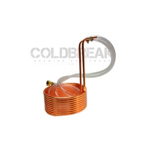 """Beer and Wine Immersion Wort Chiller, 25' - 3/8"""""""