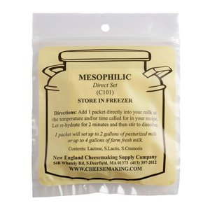 New England Cheesemaking Supply Mesophillic(DS) Culture - 5 Pack