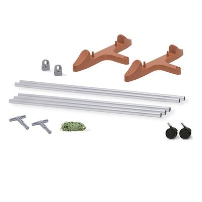 Outdoor Gardening Earth Box Stake System-Terra Cotta