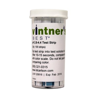 Brewer's Best pH Papers - Wine making Range (2.8- 4.4)