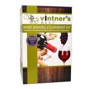 Brewer's Best Intermediate Wine Equipment Kit with Double Lever Corker