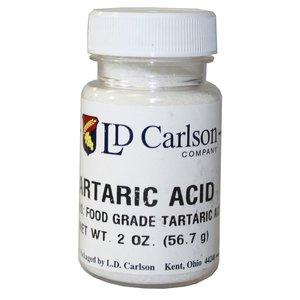 LD Carlson Tartaric Acid - 2oz