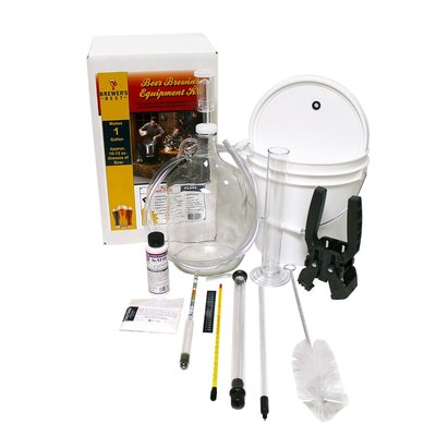 Beer and Wine One Gallon Beer Equipment Kit