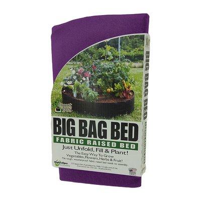Outdoor Gardening Smart Pot - Big Bag Bed Jr - 50 Gallon - Purple