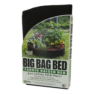 Outdoor Gardening Smart Pot - Big Bag Fabric Raised Bed - 100 Gallon