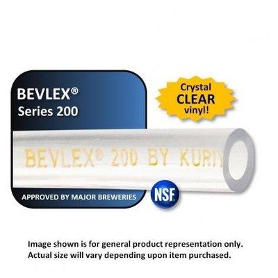 Foxx Equipment Bevlex PVC Beverage Tubing - 3/16 ID x 7/16 OD - 1 foot