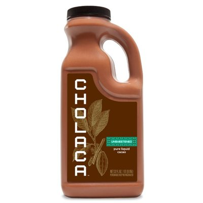 Beer and Wine Cholaca Unsweetened Liquid Cacao - 32 oz