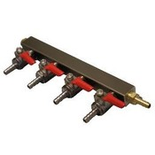 Beer and Wine Co2 Gas Manifold, 4 Way