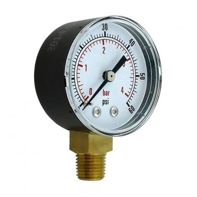 Foxx Equipment Replacement Regulator Gauge - Low Pressure - Right Hand Thread