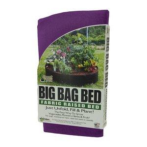 Outdoor Gardening Smart Pot - Big Bag Bed - 100 Gallon - Purple