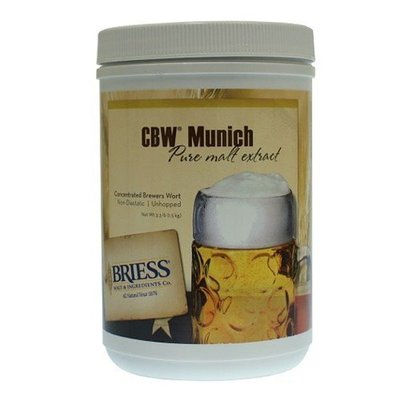 Beer and Wine Briess Munich LME; 3.3 lbs