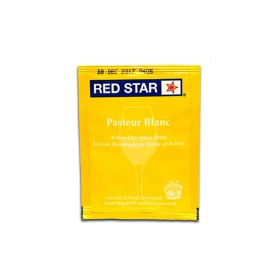 Beer and Wine Red Star Pasteur Blanc - 5 g