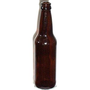 LD Carlson Amber Beer Bottle, 12 oz