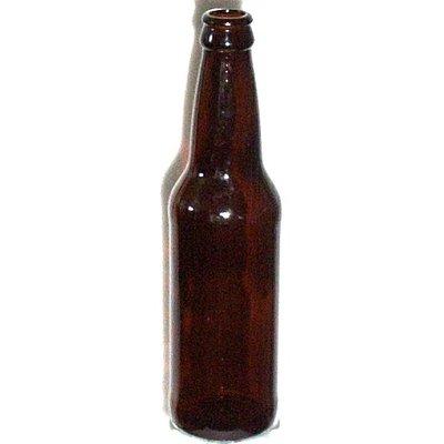 LD Carlson Amber Beer Bottle, 12 oz