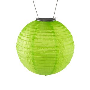 Home and Garden Soji Solar Lantern - Green