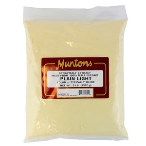 Munton's Muntons Plain Light DME; 3 lbs