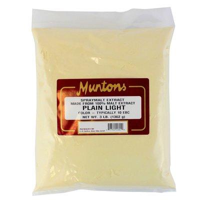 Munton's Muntons Plain Light DME; 3 lbs
