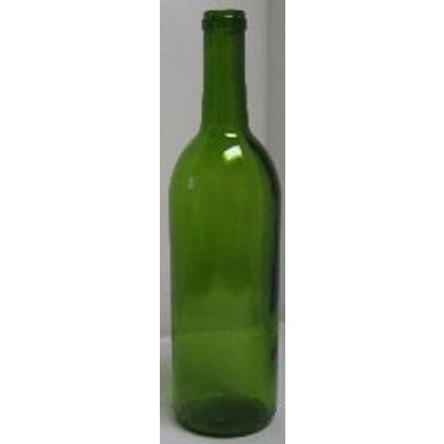 Beer and Wine Green  Bordeaux Wine Bottle