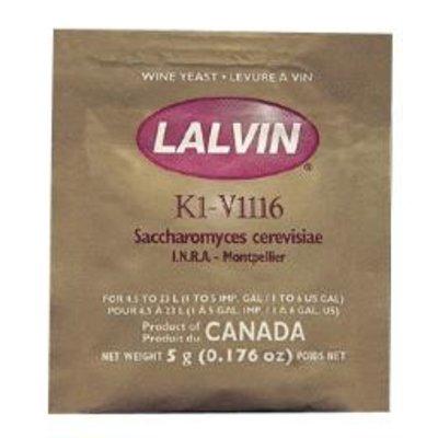 Beer and Wine Lalvin K1-V1116