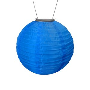 Home and Garden Soji Solar Lantern - Blue