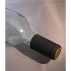 Beer and Wine Shrink Capsules-Black; 30 ct.