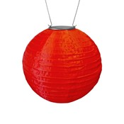 Home and Garden Soji Solar Lantern - Red