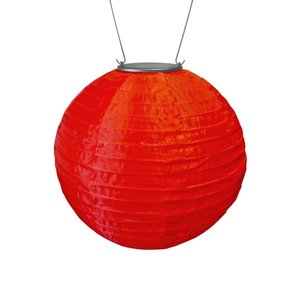 Home and Garden Soji Solar Lantern - Red