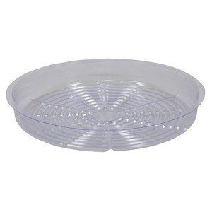 Curtis Wagner Clear Plastic Saucer - 14 inch