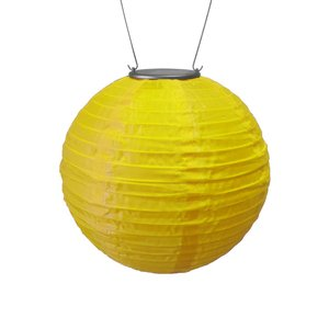 Home and Garden Soji Solar Lantern - Yellow
