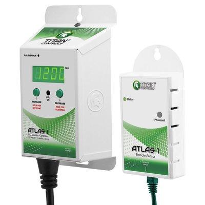 Indoor Gardening Titan Atlas 1-CO2 Monitor/Controller