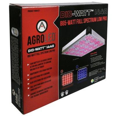 Indoor Gardening AgroLED Dio-Watt 1440 - Full Spectrum Low Pro - 865w