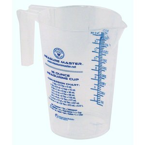 Indoor Gardening Measure Master Graduated Measuring Cup - 16oz / 500ml