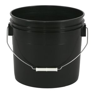 Gro Pro Black Bucket - 3.5 gallon