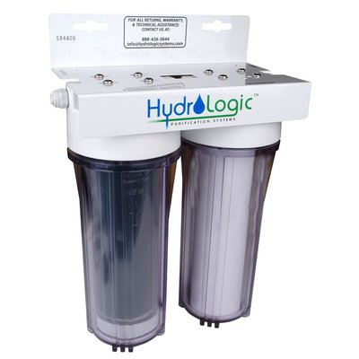 Indoor Gardening Hydro-Logic Small Boy with KDF85 Catalytic Carbon Filter