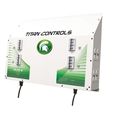 Indoor Gardening Titan Controls Helios 16 Lighting Controller - 16 Light 240v w/ Dual Trigger Cords