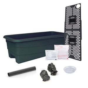Outdoor Gardening Earth Box Junior-Green