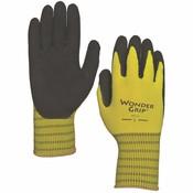 Outdoor Gardening Wonder Grip Extra Grip Latex Palm Glove - Small
